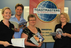 Loca Toastmasters speakers