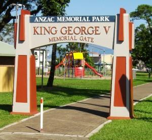 Innisfail Anzac Memorial Park Gates